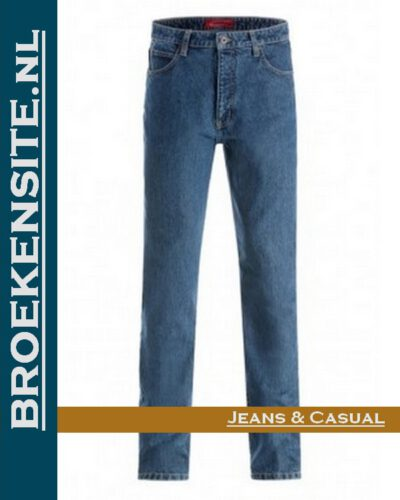 Paddock P4643 Paddocks L.S. 601 stone wash slim fit jeans Broekensite