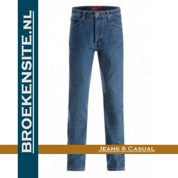 Paddock P4643 Paddocks L.S. 601 stone wash slim fit jeans Broekensite