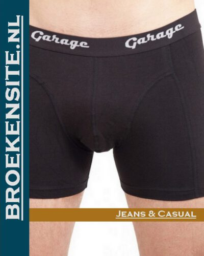 Garage Boxer Classic Fit zwart (2-pack) Broekensite jeans casual