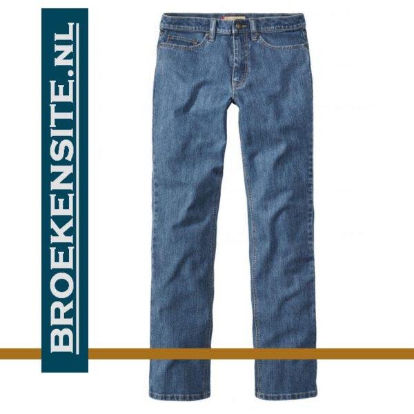 Paddocks Ranger 4526 stone blue used jeans spijkerbroek Broekensite met logo