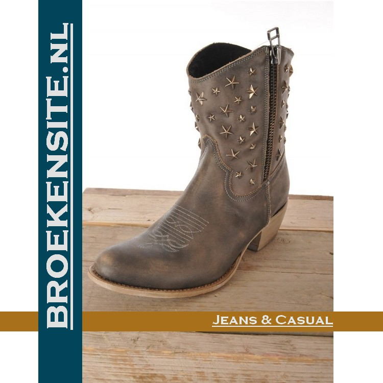 Sancho boots kort grijs used