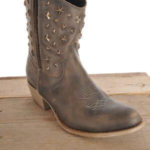 Sancho boots kort grijs used 10620 d