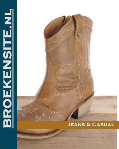 Sancho Boots korte laars 9021 Broekensite jeans casual