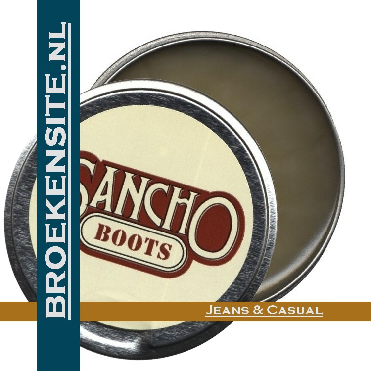 Sancho boots leervet kleurloos
