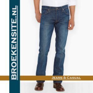 Levi 527 jeans spijkerbroek Broekensite met logo