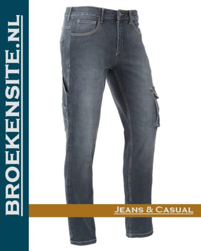 Brams Paris David bedium blue BP 1.3650-R1 Broekensite jeans casual