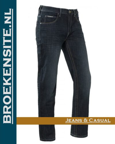 Brams Paris Dylan sand blast dark BP 1.3700-A82 Broekensite jeans casual