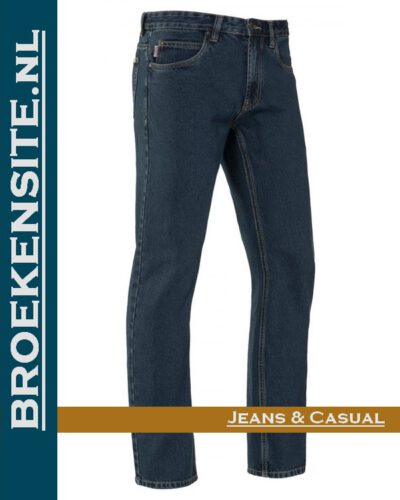 Brams Paris Gibson stone washed darkBP 1.331-A1 Broekensite jeans casual
