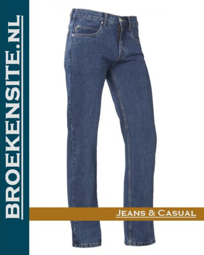 Brams Paris Gibson stone washed light BP 1.331-A51 Broekensite jeans casual
