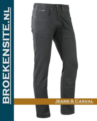 Brams Paris Hugo cotton twill ebony BP 1.3100-E14-808 Broekensite jeans casual
