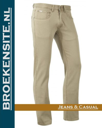 Brams Paris Hugo cotton twill sand BP 1.3100-E14-704 Broekensite jeans casual
