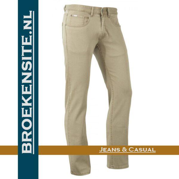 Brams Paris Hugo cotton twill sand BP 1.3100-E14-704 Broekensite jeans casual