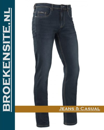 Brams Paris Jason dark blue BP 1.3200-C42 Broekensite jeans casual