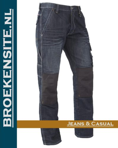 Brams Paris Sander sand blast dark BP 1.3590-A82 Broekensite jeans casual