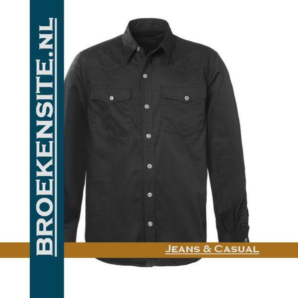 Brams Paris Lewis overhemd BP 2.356-E51 Broekensite.nl jeans en casual spijkerbroek spijkerblouse