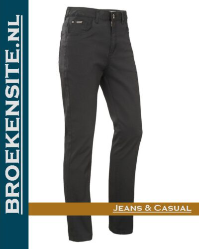 Brams Paris Lily black twill BP 1.4340-D50 Broekensite jeans casual