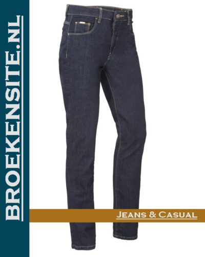 Brams Paris Lily rinsed washed dark BP 1.4340-X51 Broekensite jeans casual