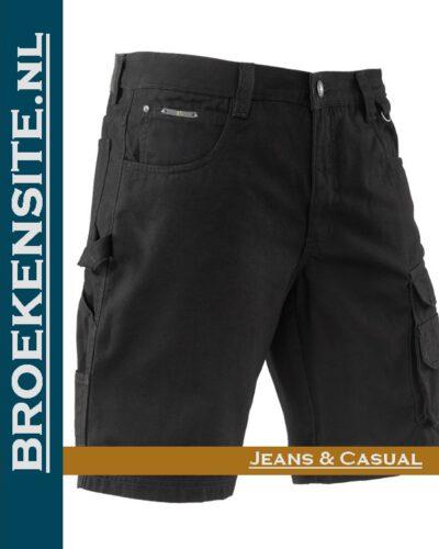 Brams Paris Ruben black polyester canvas BP 4.359-E53 Broekensite jeans casual