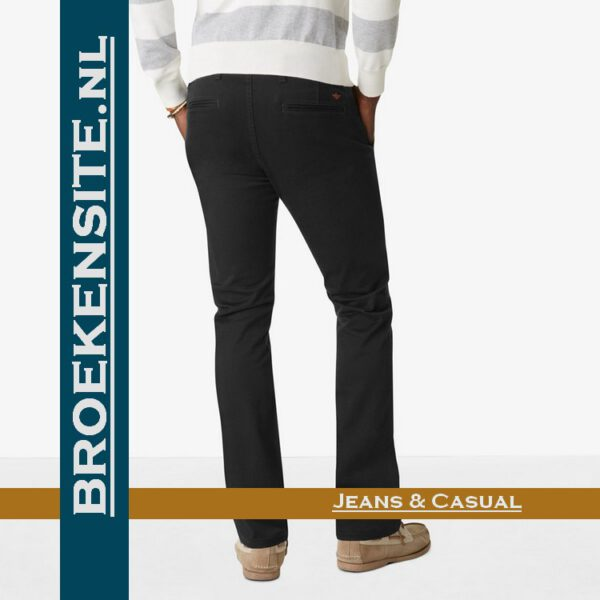 Dockers Alpha Alpha skinny stretch twill black D 47122 - 0070 broek Broekensite jeans casual