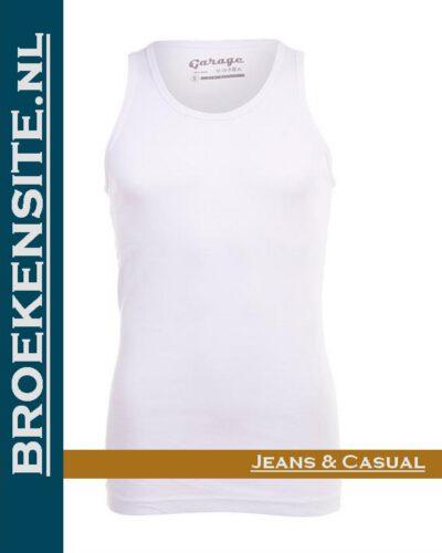 Garage Dames Singlet Bodyfit wit G 0703-WT Broekensite jeans casual
