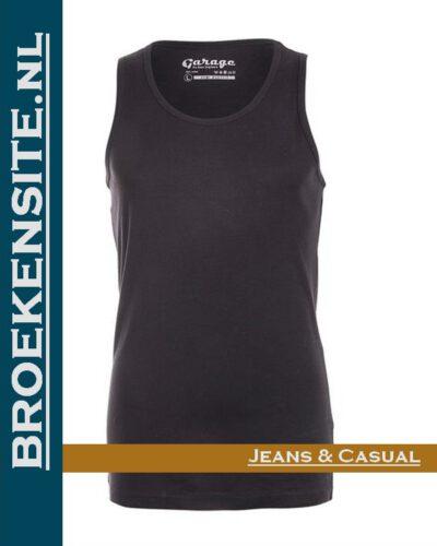 Garage Dames Singlet Bodyfit zwart G 0703-ZW Broekensite jeans casual