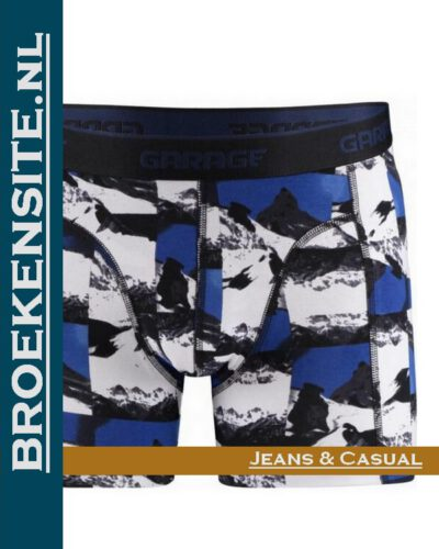 Garage boxershort Alaska blue boxer Broekensite G 0802-AB jeans casual