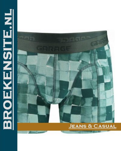Garage boxershort Hawaii green G 0802-HG Broekensite.nl jeans casual