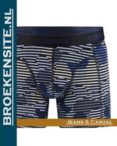 Garage boxershort Montana blue G 0802-MB Broekensite.nl jeans casual