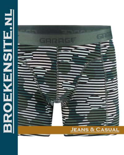 Garage boxershort Montana green G 0802-MG Broekensite.nl jeans casual
