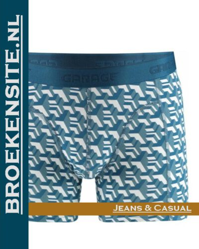 Garage boxershort New York blue G 0802-NYB Broekensite.nl jeans casual