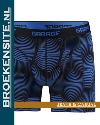 Garage boxershort Norfolk blue G 0802-NB Broekensite.nl jeans casual