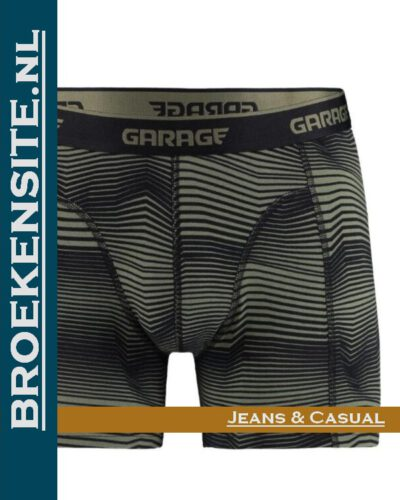 Garage boxershort Norfolk green G 0802-NG Broekensite.nl jeans casual