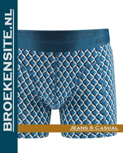Garage boxershort Texas blue G 0802-TB Broekensite.nl jeans casual
