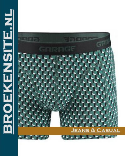 Garage boxershort Washington green G 0802-WG Broekensite.nl jeans casual