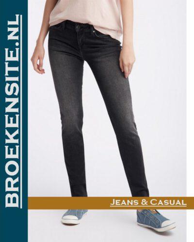 Mustang Jasmin Jeggins black M 1006278 - 4000 - 882 Broekensite jeans casual