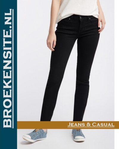 Mustang Jasmin Jeggins black M 1006279 -4000 - 940 Broekensite jeans casual