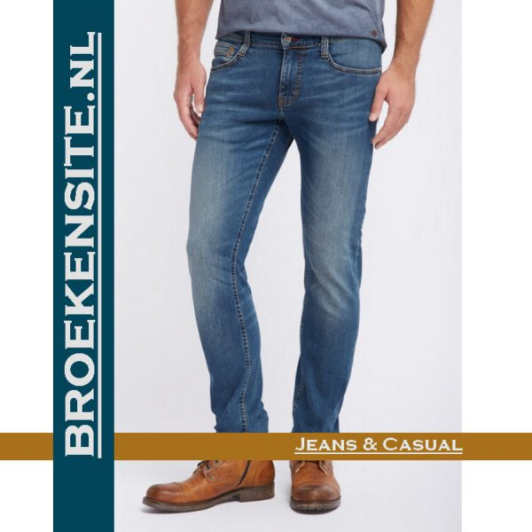 Mustang Oregon Tapered stone M 3116-5764 - 068 Broekensite jeans casual