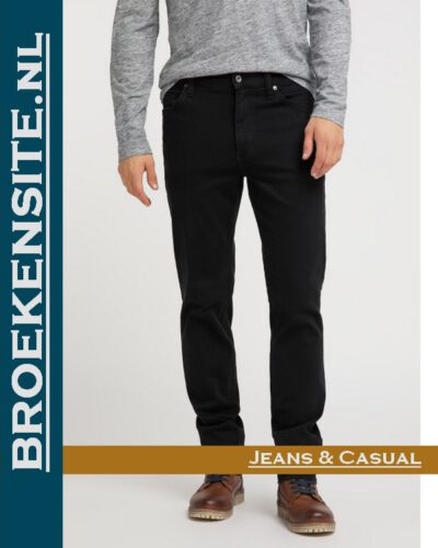 Mustang Tramper Tapered denim black M 1005088 - 4000 800 Broekensite jeans casual