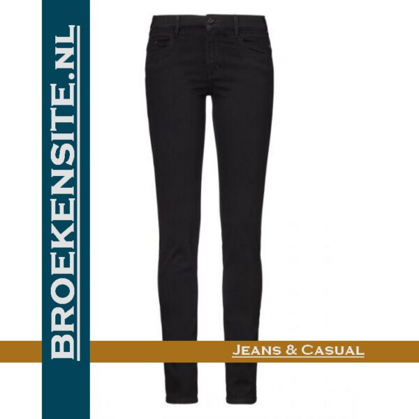 Paddocks Lucy black P 602703503000 - 6001 Broekensite jeans casual