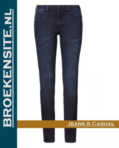 Paddocks Lucy blue black darkstone P 602704060000 - 5732 Broekensite jeans casual