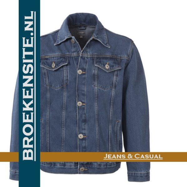 Brams Paris Elton Jacket spijkerjack BP 3.3095 - A51 Broekensite jeans casual