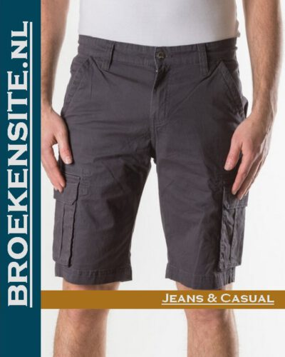 New Star Brisbane bermuda stretch antra NS - 0204-BRISBANE-2-114 Broekensite jeans casual