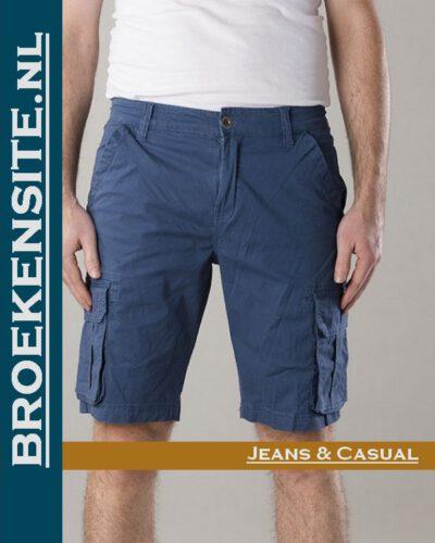 New Star Brisbane bermuda stretch blue NS - 0204-BRISBANE-2-501 Broekensite jeans casual