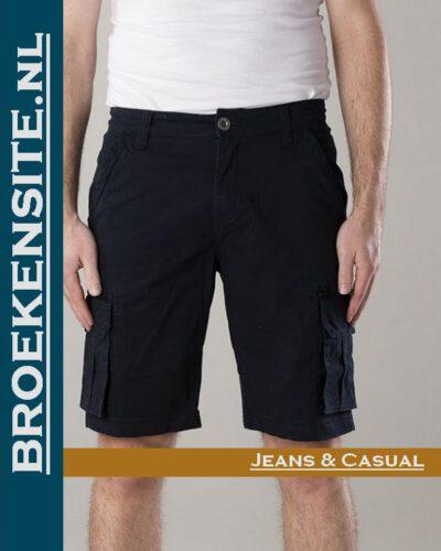 New Star Brisbane bermuda stretch navy NS - 0204-BRISBANE-2-504 Broekensite jeans casual