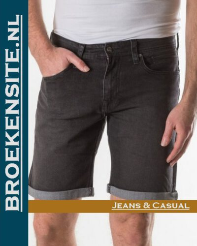 New Star JV Short burmuda black NS - 0204-JV-SHORT-DNM-23-24 Broekensite jeans casual
