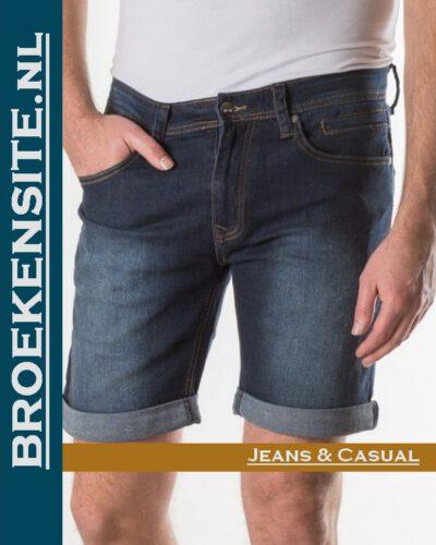 New Star JV Short burmuda dark blue NS- 0204-JV-SHORT-DNM-23-25 Broekensite jeans casual