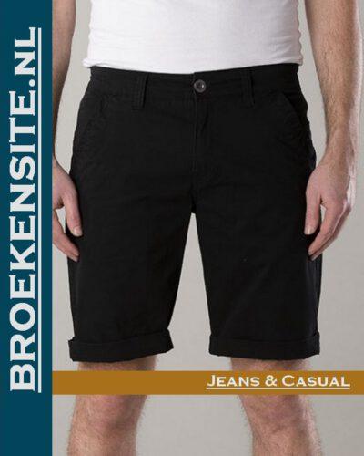 New Star Nashville bermuda black NS - 0204-NASHVILLE-2-101 Broekensite jeans casual