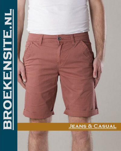 New Star Nashville bermuda red NS - 0204-NASHVILLE-2-601 Broekensite jeans casual