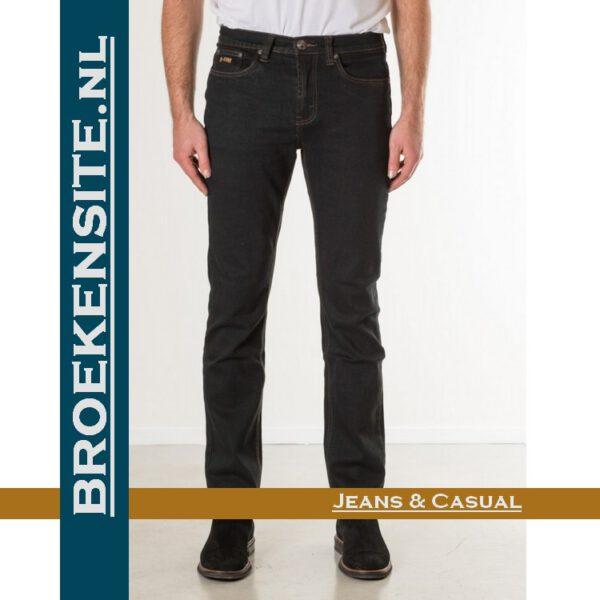 New Star slim fit stretch blue black NS - 999-JACKSONVILLE-23-64 Broekensite jeans casual
