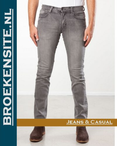New Star slim fit stretch dark stone NS - 999-JV-SLIM-23-23 Broekensite jeans casual